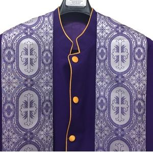 Clergy Pastor Bishop Robe with stole